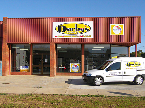 Darby's Paints Shepparton Store